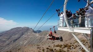 В Еміратах відкрили найдовшу канатну дорогу в світі