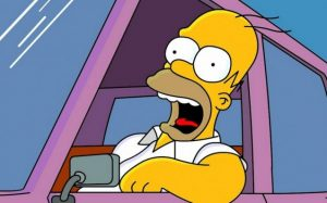 """Британські поліцейські зупинили """"Гомера Сімпсона"""""""