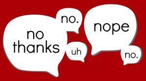 Чарівне слово «ні»